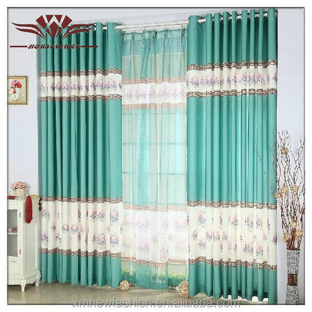Italian Style Curtains,Emerald Green Curtains,Swan Curtain - Buy Swan ...