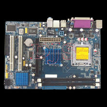 Socket 775 dual core ddr2 motherboard 945 Computer Mainboard Support Pentium4 Celeron D Conroe Dual Core CPU