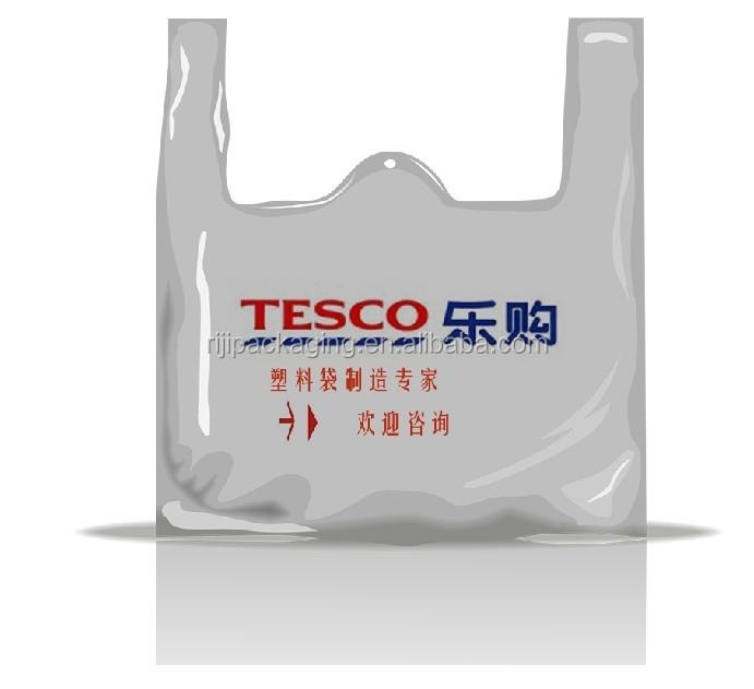 Sacos de plástico de compras