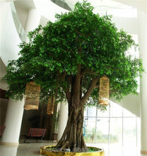 HX-004banyan plastic trees hot sale ficus tree, simulation artificial Banyan tree