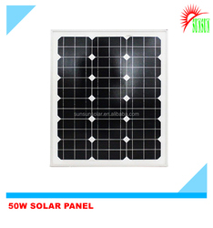 Best quality Polycrystalline 12V 50W solar panel