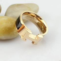 Newest new coming green eyes wide gold ring