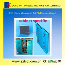 P10 indoor rental full color display screen widely used in public meeting and indoor activities