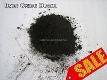 Iron oxide black bulk inorganic pigment Fe2O3 powder 96%