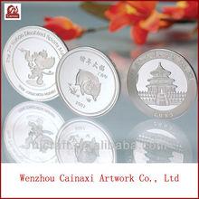 antigua moneda de plata de china de la moneda conmemorativa
