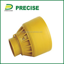 Plastic shaft cover for tractor pto shaft