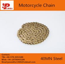 Colômbia peças da motocicleta 415H cadeia pesados para kit de motor