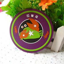lovely rubber PVC placemat and coaster for sale
