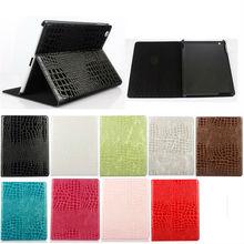 Luruxy Crcodile Leather case for iPad Mini 4, for iPad Mini 4 case cover