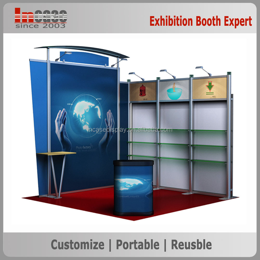 Jewelry Exhibition Booth Design : Simple jewelry exhibition stand trade show booth