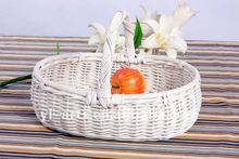 2012 new fashioned willow wicker gift basket