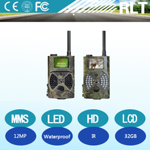 12MP camouflage outdoor MMS hunting HD digital camera Motion Detection IR thermal imaging 32G SD card waterproof Night Vision