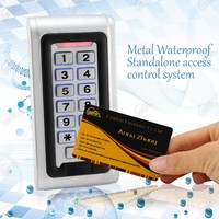 Waterproof RFID Access Control Door Systems
