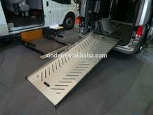 bewr silla de ruedas eléctrica para la rampa de carga van 350kg