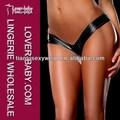 venda quente o mais novo e barato metálico das mulheres lingerie sexy calcinha