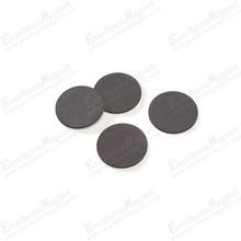 small thin round ferrite magnet