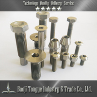 Stainless screw in candle holder