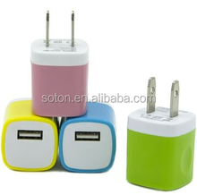 HOT SALE Single USB Port Mobile Phone Wall Charger