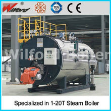 Supply Best Price Oil Gas Fired Steam Boilers For Food Factory