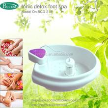 hot selling water basin massage pedicure ion cleanse hydrosana detox foot spa