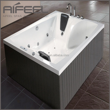 Bathroom bath tub freeestanding acrylic 2 person whirlpool massage bathtubs