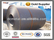 Q235B Hot Rolled Carbon Floor Plate Mild Checkered Steel Coils