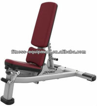 gym quality multi adjustable free weight bench