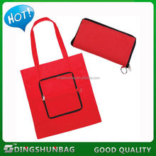Top quality top sell eco friendly pocket foldable tote bag