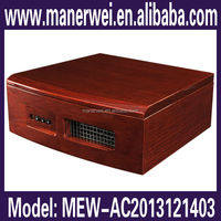 Traditional hard wooden enery saving ionfresher alive ionizing air purifier