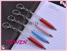 Crystal hot Promotional Metal Mini keychain Pen