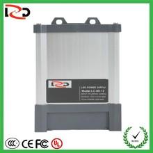 FCC approved factory provide 12V 24V AC DC power supply