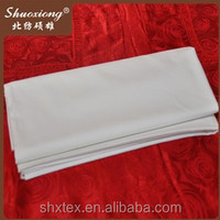 fabric and textile 100% cotton white sheeting fabric