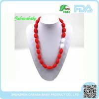 Alloy Main Material High end Fashion Style Best Price Women Accessories Wholesale chewable silicone necklace