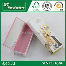Cute cardboard pen packing box for gift