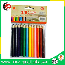 6 pack 3.5 inch colored pencil