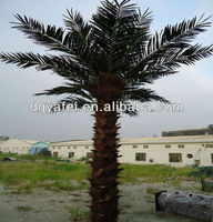 High imitation Artificial evergreen big/middle palm Tree for project decor/garden/park/roadsides/landscaping outdoor decoration