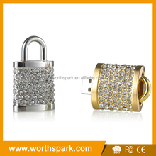 New style combination lock usb flash drive with CE/ROHS/FCC