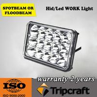 45w cheap led work light ,6.6 inch led driving light ,10-30v DC auto part led running light