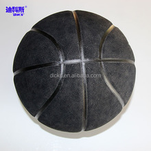 Microfiber Basketball For Size 6 For Black Colored
