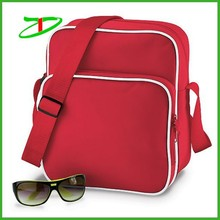Fujian factory fashion mens waterproof document bag, designer pu leather sling bag