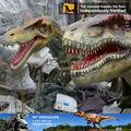 Mi Dino - de tamaño natural realista dinosaurios animatronic de vídeo