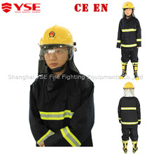 YSE own brand fire fighting clothing