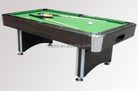 Pool Tables Automatic ball return system,Red/Green Carpet Billiard table Zink Alloy Table Corner,ball,triangle,cue,brush,chalk
