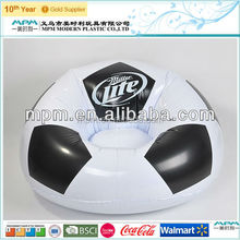 sedex audit factory hot sale children PVC inflatable soccer sofa