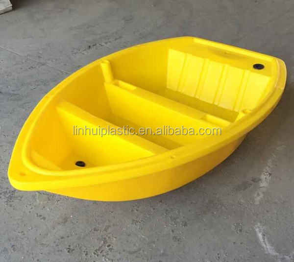 Sport fishing boat small pe boat with plastic paddles for Small plastic fishing boats