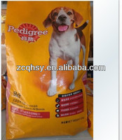 Manufactory pet foods dog food bag hot sell