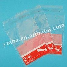 Bottom price manufacture newly design garment plastic bag travel