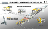 Laminating machine bullet-proof glass making machine