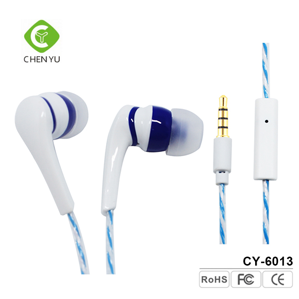 Cheap Stereo Plastic Silicone Earphone Wholesale For Ear Pad