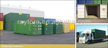 new insulated shipping cargo container from container yard for sale